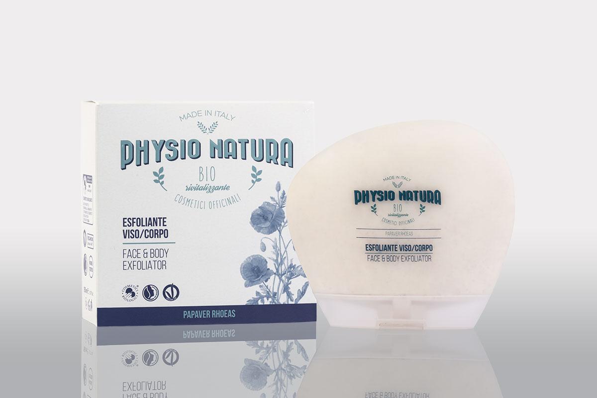 Physio Natura BIO: esfoliante al papavero