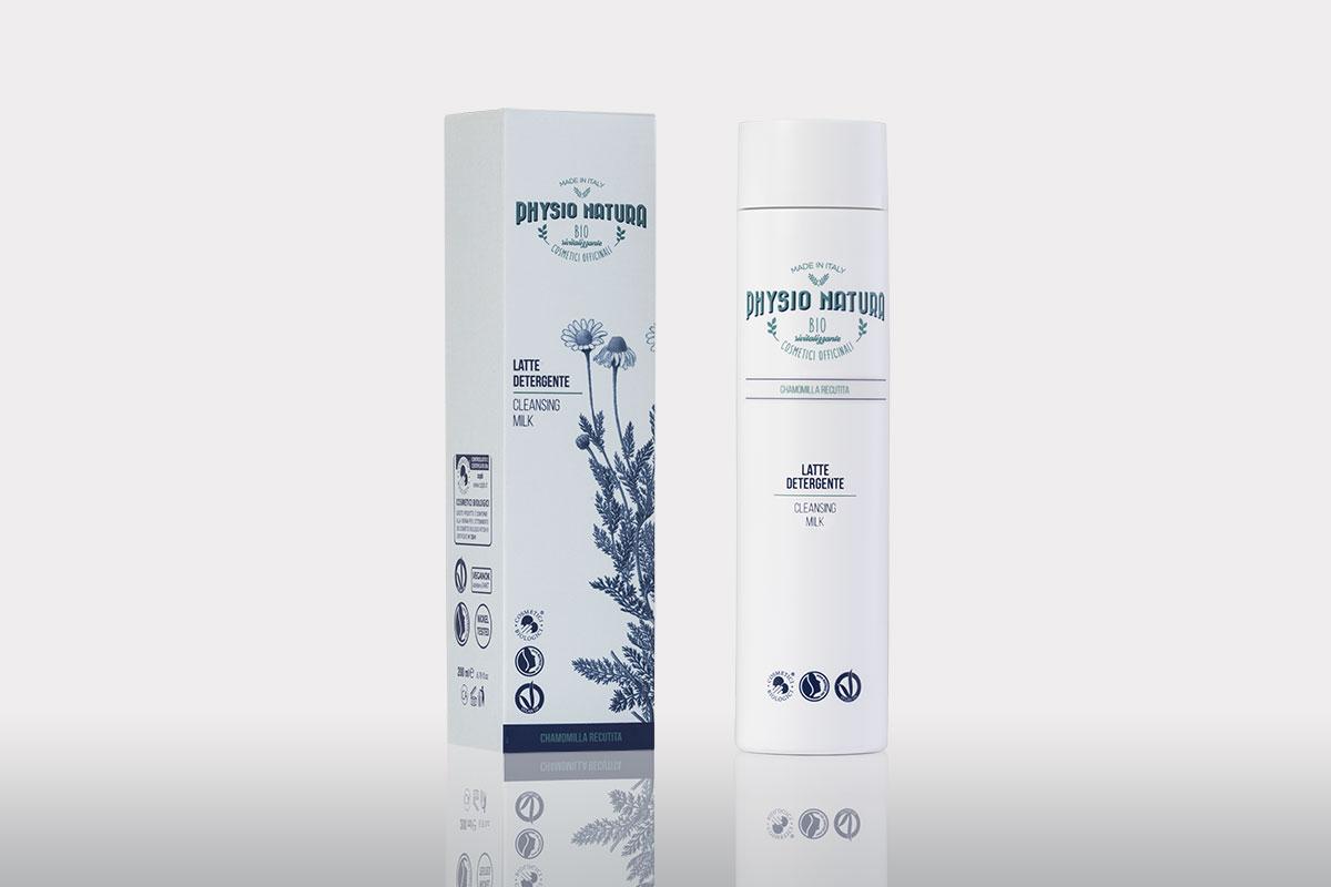 Physio Natura BIO: latte detergente alla camomilla