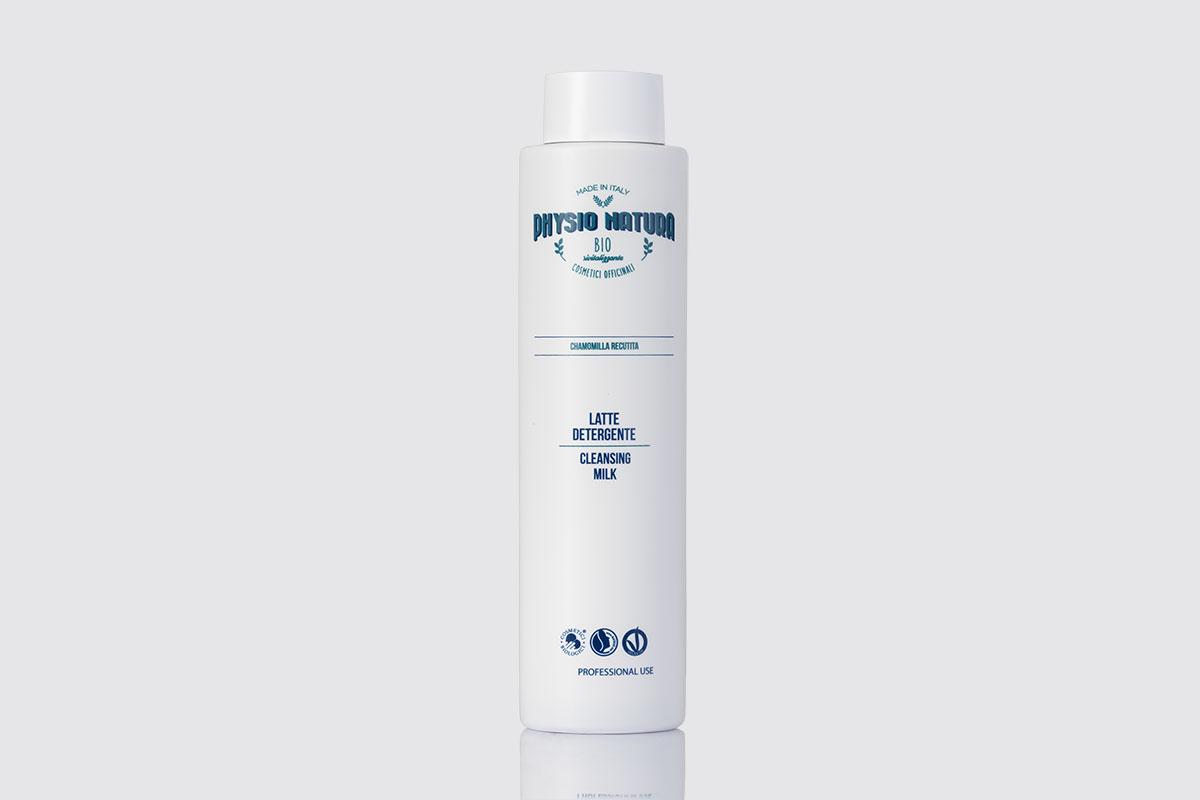 Physio Natura BIO: latte detergente alla camomilla per uso professionale
