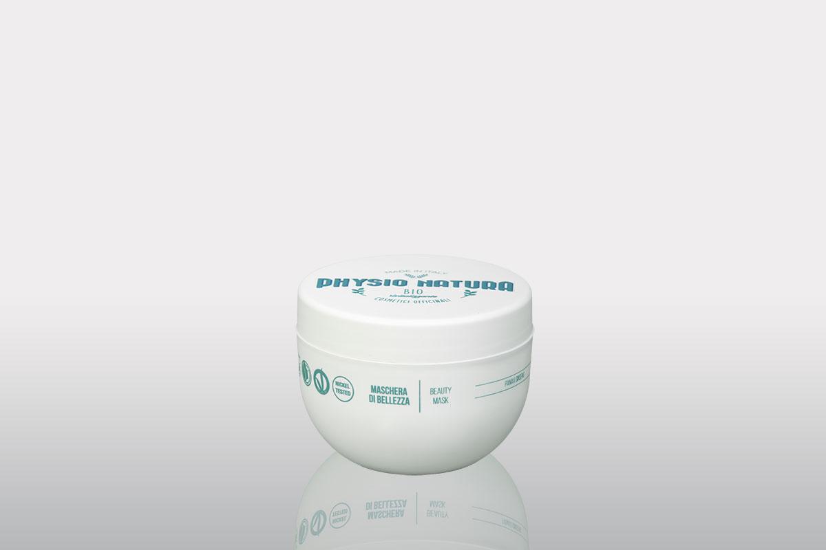 Physio Natura BIO: maschera di bellezza al ginseng per uso professionale